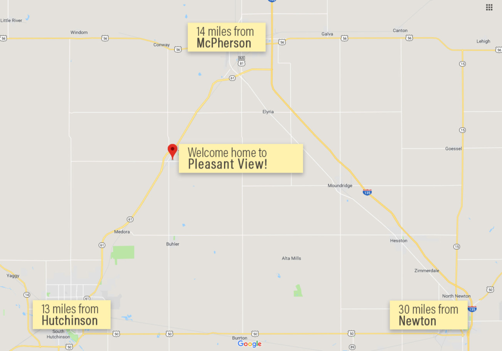 Pleasant View Map