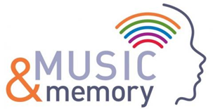 1. Logo for the Music and Memory program for patients suffering with dementia and other conditions