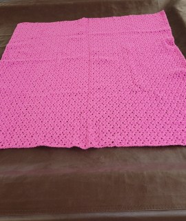 20210122 090520 resized 270x320 - Crocheted Blanket (Pink)