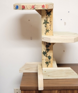 2 Tier Flower Stand 270x320 - 2 Tier Plant Stand