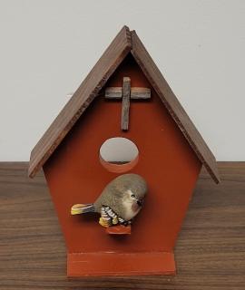 Wooden Bird House 1 270x320 - Wooden Bird House