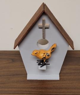 Wooden Bird House 2 270x320 - Wooden Bird House