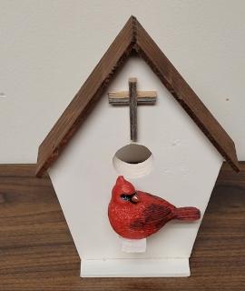 Wooden Bird House 3 270x320 - Wooden Bird House