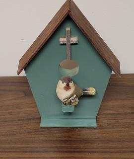 Wooden Bird House 4 270x320 - Wooden Bird House