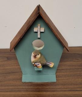 Wooden Bird House 5 270x320 - Wooden Bird House