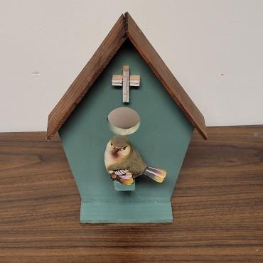 Wooden Bird House 5 370x370 - Wooden Bird House