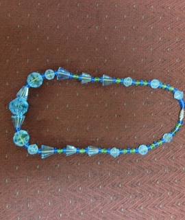 """Blue and Green Necklace 270x320 - Blue/Green Necklace - 16"""""""