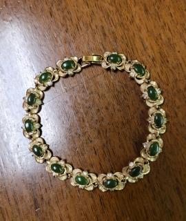Green Stones Bracelet 270x320 - Green Stone Bracelet