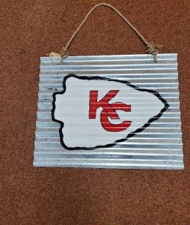 "KC Sign 20 X 16 270x320 - KC Chiefs Sign - 20"" X 16"""