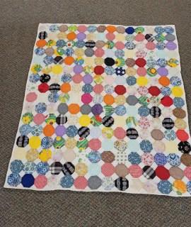 Lap Quilt 51 x 45 donated by family of Nola Gaeddert made by Clara Hendrickson Nola Grandmother 270x320 - Lap Quilt (51x45) - 1 ticket