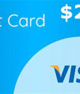 Visa Gift Card 270x320 - $250 Visa Gift Card - 1 ticket